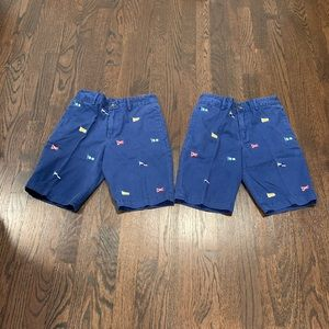POLO RALPH LAUREN INTERNATIONAL SHORTS TWINS SZ 10